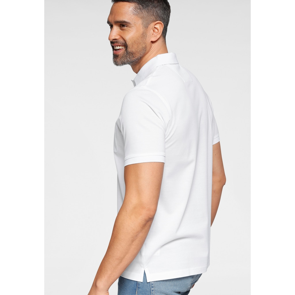 OLYMP Poloshirt »CASUAL«, in 3-Knopf-Form