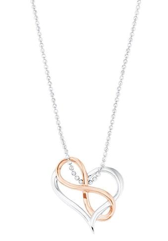 Amor Kette mit Anhänger »Herz mit Infinity/Unendlichkeitsschleife, 2026251« kaufen