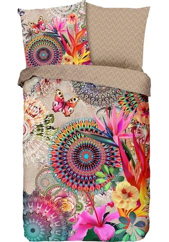 hip Wendebettwäsche »Maelli«, mit Mandalas und exotischen Blüten kaufen