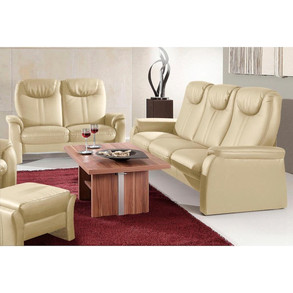 sit&more Polstergarnitur, Set bestehend aus 3- und 2- Sitzer, 3-Sitzer mit Bettfunktion