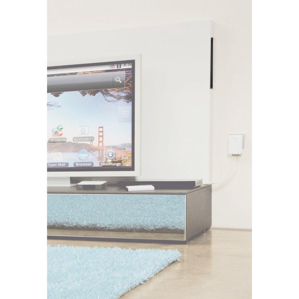 Thomson DVB-T2 Zimmerantenne, TV/Radio Stabantenne, DAB+/4K/aktiv