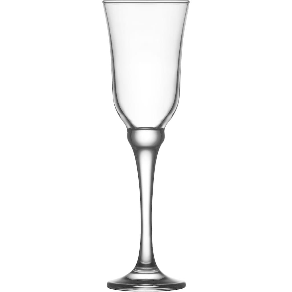 van Well Sektglas »Resital«, (Set, 6 tlg.)
