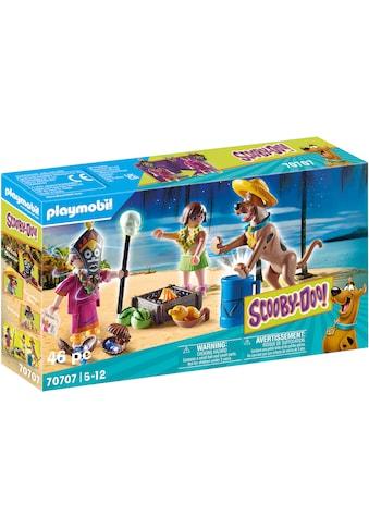 Playmobil® Konstruktions-Spielset »SCOOBY-DOO! Abenteuer mit Witch Doctor (70707),... kaufen
