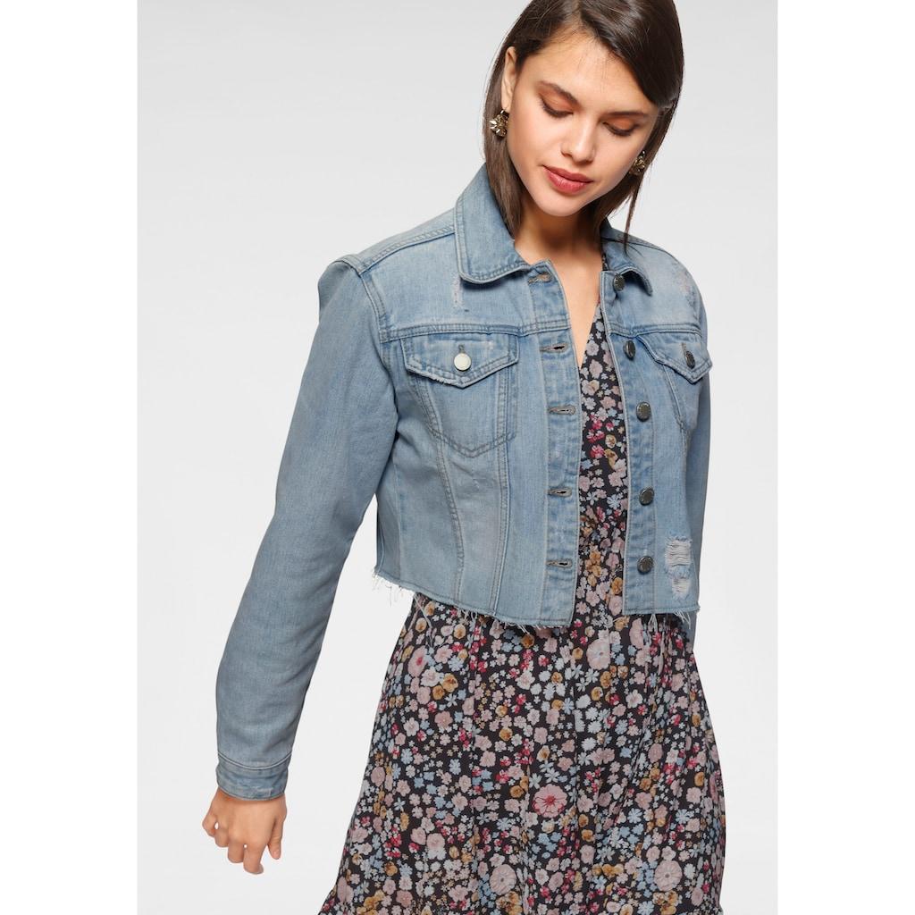 HaILY'S Jeansjacke, auf Taillenlänge
