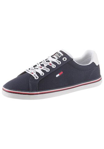 Tommy Jeans Sneaker »ESSENTIAL LACE UP SNEAKER«, mit Logoemblem kaufen