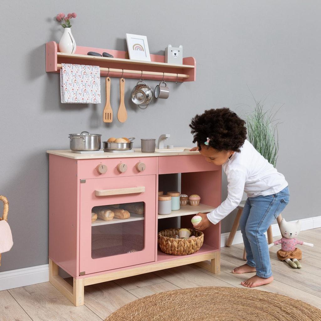 MUSTERKIND® Spielküche »Magnolia, altrosa/natur«