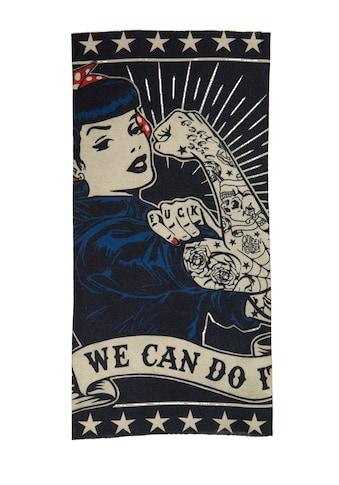 QueenKerosin Multifunktionstuch »We can do it«, mit beidseitigem Print kaufen