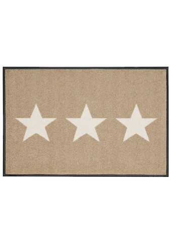 wash+dry by Kleen-Tex Fußmatte »Stars«, rechteckig, 9 mm Höhe, Schmutzfangmatte, In-... kaufen