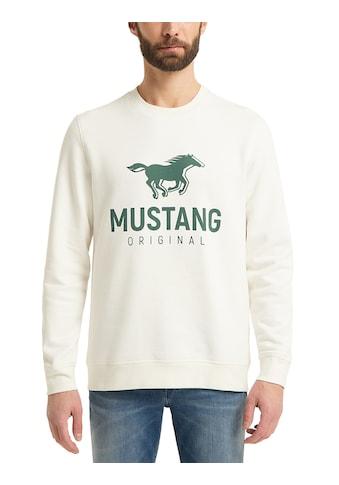 MUSTANG Sweatshirt »Ben C Print«, Sweatshirt kaufen