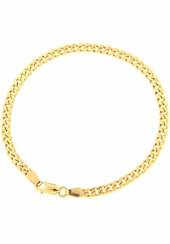 Firetti Panzerarmband »Diamantiert, Goldarmband, 3,6 mm breit« kaufen