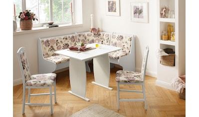 Home affaire Eckbankgruppe »Minden 3«, (Set, 4 St.), im rustikalen Landhausstil kaufen