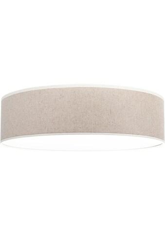 OTTO products Deckenleuchte »Emmo«, E27, Deckenlampe mit hochwertigem Leinen - Schirm... kaufen