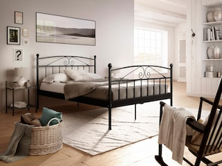 home affaire metallbett birgit kaufen bei otto. Black Bedroom Furniture Sets. Home Design Ideas