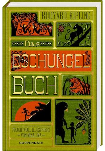 Buch »Das Dschungelbuch / Rudyard Kipling, MinaLima Design, Wolf Harranth, Sonja Häußler« kaufen