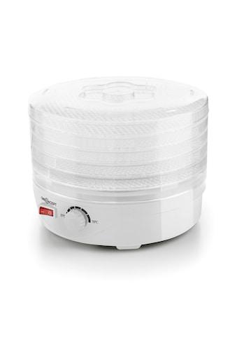ONECONCEPT Dörrautomat 5 Etagen Dehydrator 250 Watt weiß kaufen