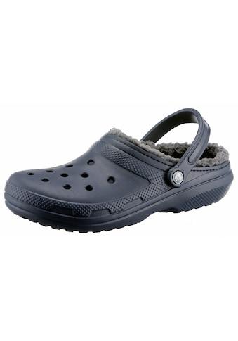 Crocs Clog »Classic Lined Clog«, mit kuscheligem Fellimitat kaufen