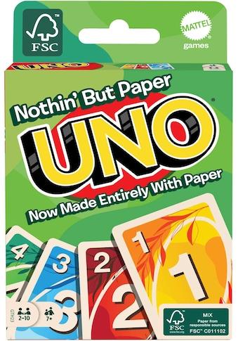Mattel games Spiel »UNO 100% Papier« kaufen