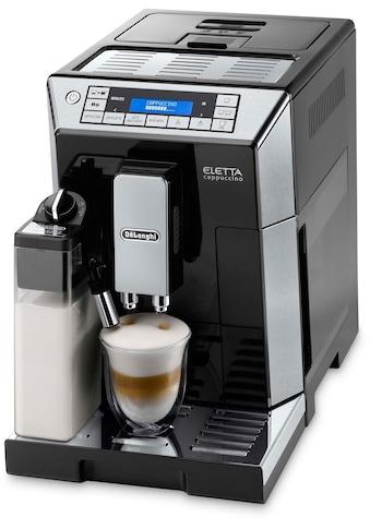 De'Longhi Kaffeevollautomat »Eletta ECAM 45.766B«, mit integriertem Milchsystem, Hochglanz-Schwarz mit Edelstahl-Applikationen kaufen