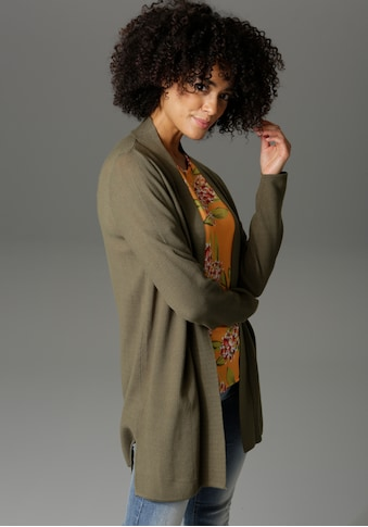 Aniston CASUAL Strickjacke, im Perlstrick-Muster - NEUE KOLLEKTION kaufen