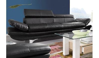 COTTA Polstergarnitur, (Set), Set: bestehend aus 3-Sitzer und Hocker, Inklusive... kaufen