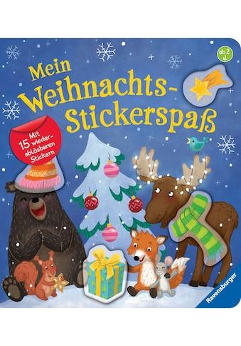 Buch »Mein Weihnachts-Stickerspaß / Bernd Penners, Christine Faust« kaufen