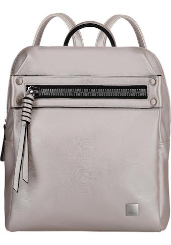 TITAN® Cityrucksack »Spotlight Zip, Metallic Pearl« kaufen