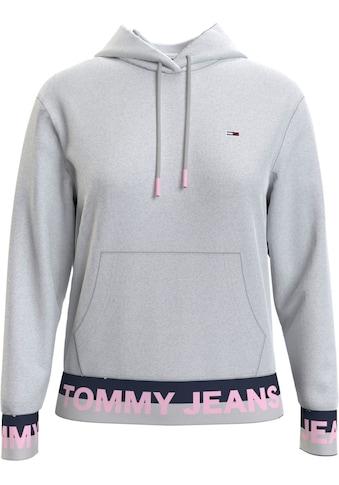 TOMMY JEANS Kapuzensweatshirt »TJW BRANDED HEM HOODIE«, mit Colorblocking Bündchen & Tommy Jeans Logo-Schriftzug kaufen