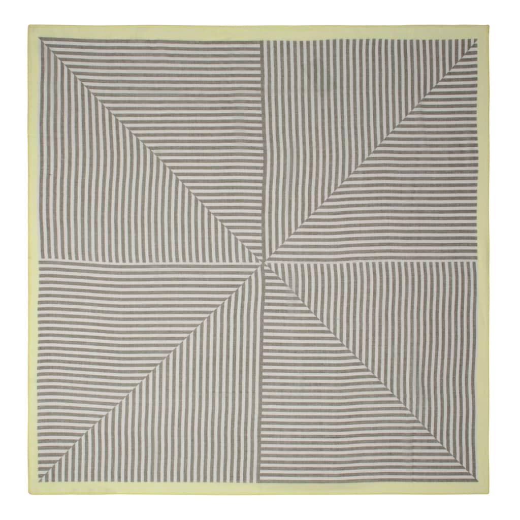Codello Streifentuch aus recyceltem Polyester