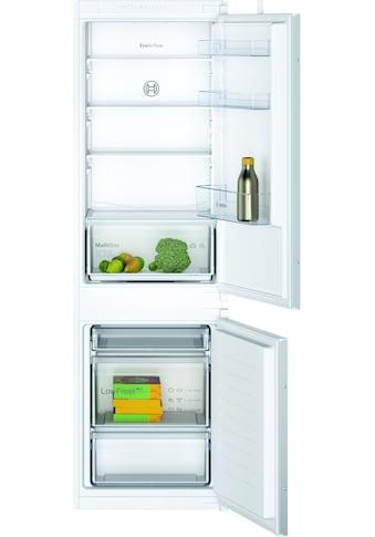 BOSCH Einbaukühlgefrierkombination »KIV86NSF0«, 2 kaufen