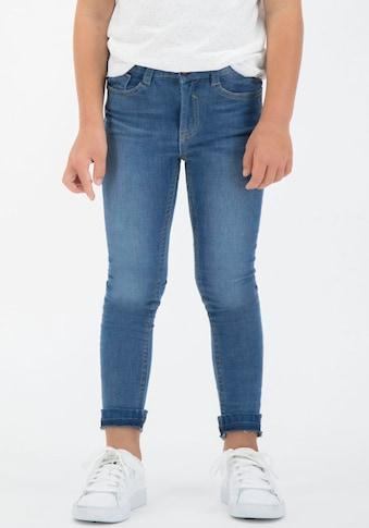 Garcia Stretch-Jeans »590 Sanna«, mit aufgetrenntem Saum kaufen