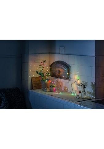 KONSTSMIDE Dekolicht, Micro LED Lichterkette, mit langsamem und schnellem Farbwechsel kaufen