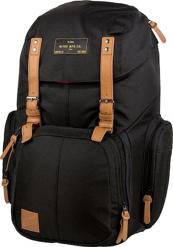 NITRO Laptoprucksack »Weekender, True Black« kaufen