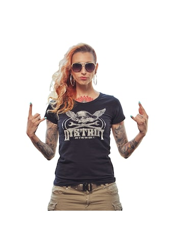 DYSTROY T - Shirt »BAD KITTY« kaufen