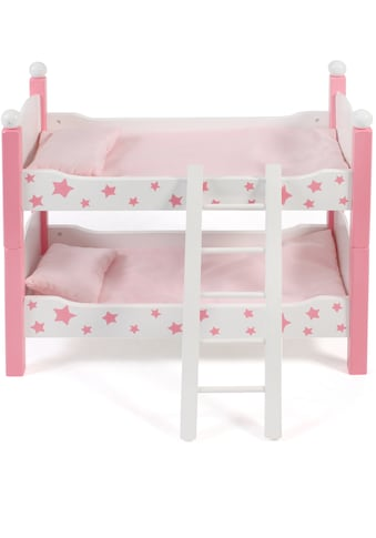 CHIC2000 Puppenbett »Stars Pink«, auch als zwei Einzelbetten verwendbar kaufen