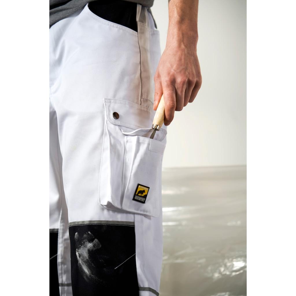 Northern Country Arbeitshose »Worker«, mit verstärktem Kniebereich