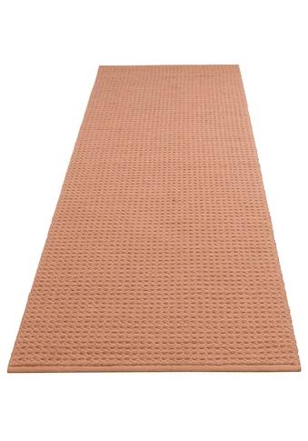 DELAVITA Läufer »Sanara«, rechteckig, 13 mm Höhe, Strick-Optik kaufen