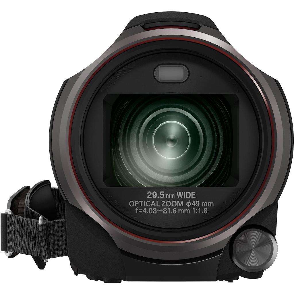 Panasonic Camcorder »HC-V777«, WLAN (Wi-Fi)-NFC, 20x opt. Zoom, 50x intelligenter Zoom, Wireless Twin Camera, USTREAM, Hybrid OIS