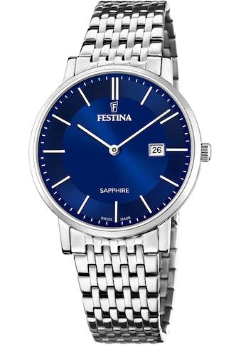Festina Schweizer Uhr »Festina Swiss Made, F20018/2« kaufen