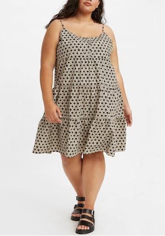 Levi's® Plus Sommerkleid, Mit Volants Saum kaufen