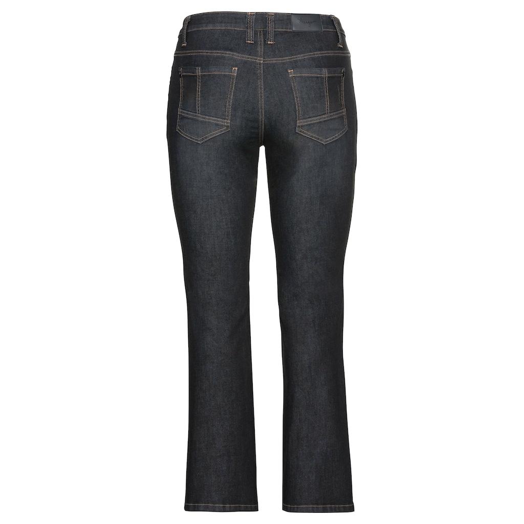 Sheego Gerade Jeans, mit Nieten