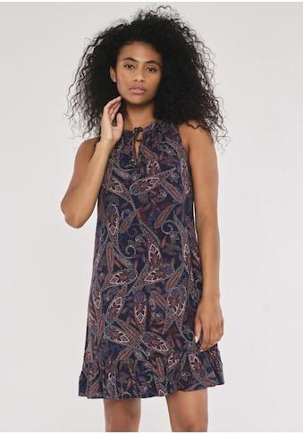 Apricot Druckkleid »Paisley Ruffle Trim Dress«, mit Schlüssellochausschnitt kaufen