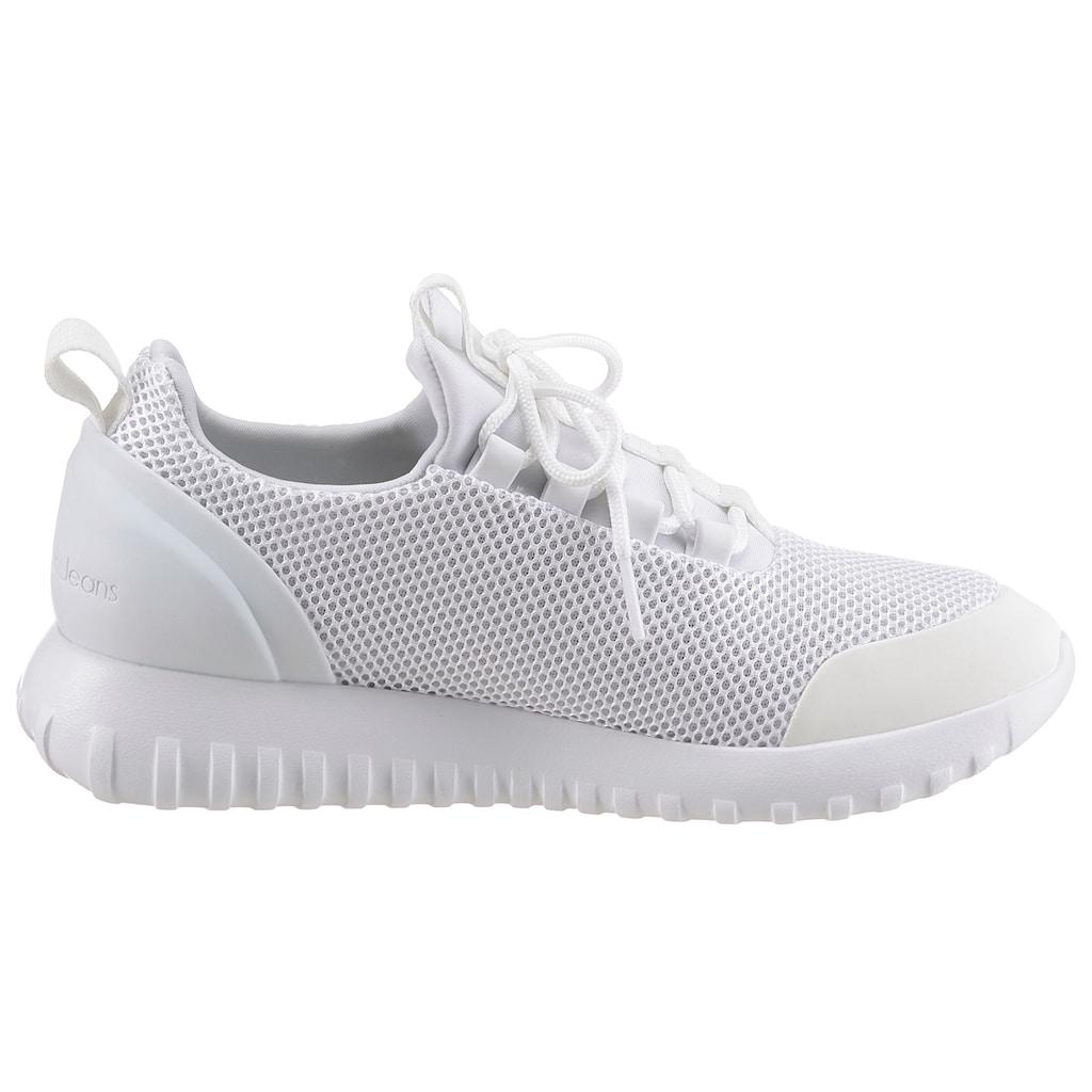 Calvin Klein Slip-On Sneaker »REIKA«, mit aufgesetzter Zierschnürung