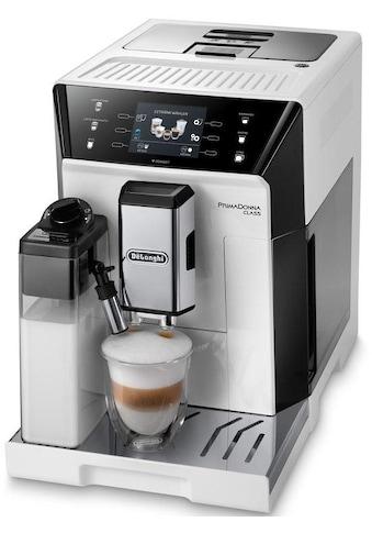 De'Longhi Kaffeevollautomat PrimaDonna Class ECAM 556.55.W, 2l Tank, Kegelmahlwerk kaufen