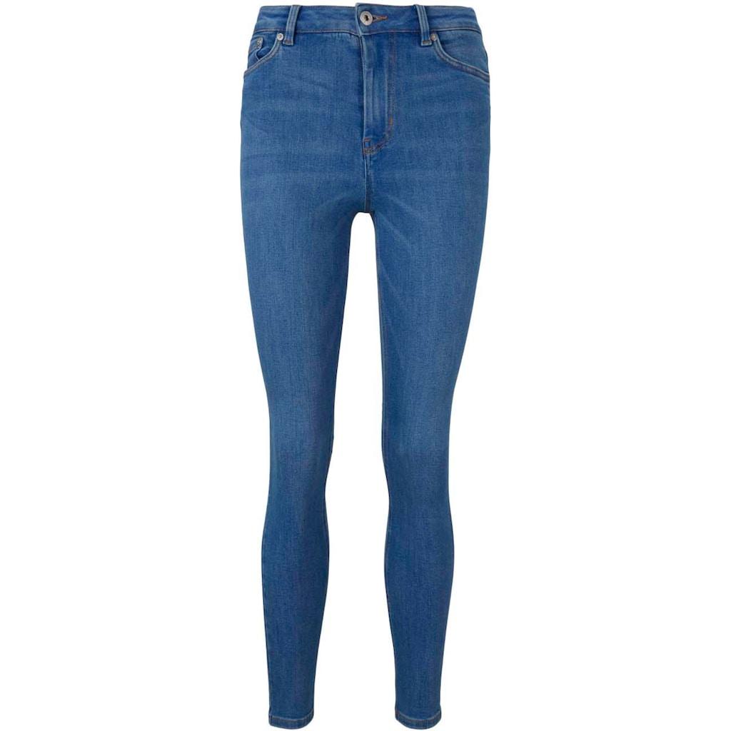 TOM TAILOR Denim 5-Pocket-Jeans, aus weichem Stretch-Denim