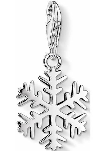 THOMAS SABO Charm-Einhänger »Schneeflocke, 0281-001-12« kaufen