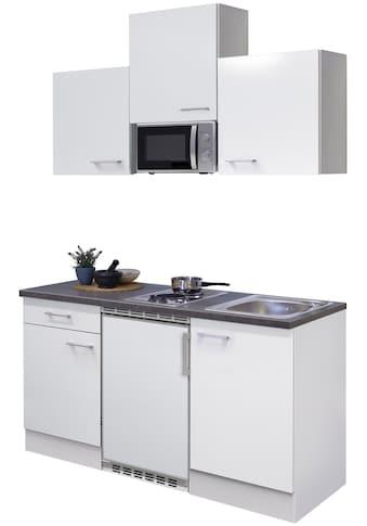 Flex-Well Küchenzeile »Lucca«, mit E-Geräten, Gesamtbreite 150 cm kaufen