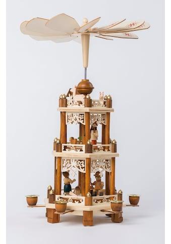 HGD Holz - Glas - Design Pyramide Waldweihnacht kaufen