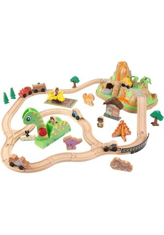 KidKraft® Spielzeug-Eisenbahn »Dinosuarier Eisenbahn-Set« kaufen