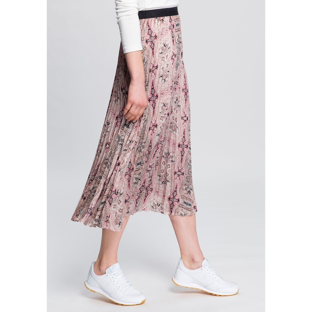 Herrlicher Maxirock »ANIA SKIRT PRINTED«, im Urban-Streetwear-Style