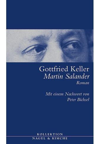 Buch »Martin Salander / Gottfried Keller, Peter von Matt, Peter Bichsel« kaufen